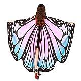 TUDUZ Schmetterling Kostüm Frauen, Damen Kostüm Verkleidung für Karneval Fasching Party (Rosa,...