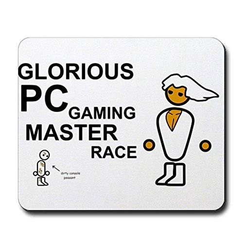 Glorious PC Gaming Master Race Mousepad - Non-Slip Rubber Mousepad, Gaming Mouse Pad
