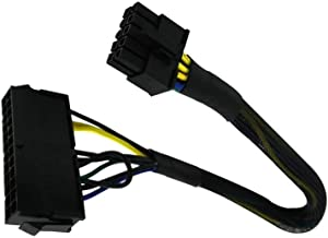 24 Pin to 10 Pin ATX PSU Main Power Adapter Braided Sleeved Cable for IBM Lenovo PCs