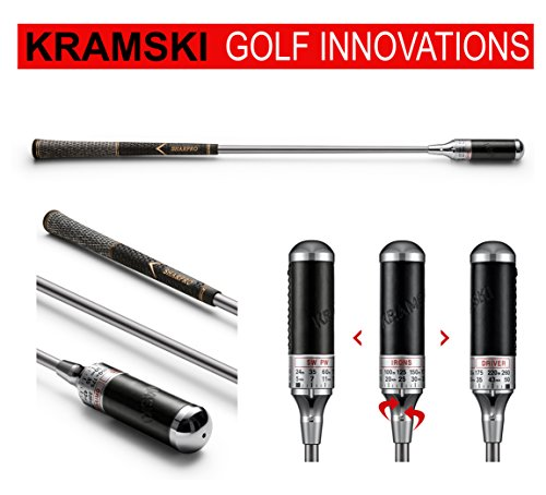 KRAMSKI Schwungtrainer One - Impact Swing Trainer + 1 x Killagolf©-Tees | das Exclusive Golfgeschenk !