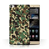 Stuff4 Phone Case for Huawei P8 Max Camouflage Army Navy