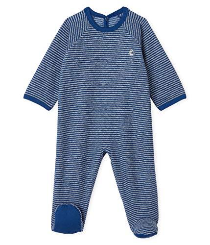 Petit Bateau Dors Bien Pont Dos_5001001 Pyjama, Multicolore (Major/Subway 01), 86 (Taille Fabricant: 18M/81centimeters) Bébé garçon