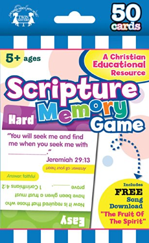 Compare Textbook Prices for Scripture Memory Christian 50-Count Game Cards I'm Learning the Bible Flash Cards TS Edition ISBN 9781630587925 by