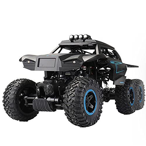 ZDYHBFE Buggy súper grande 1:12 Coche de escalada al aire libre Coche de juguete para niño Coche de control remoto con tracción en las seis ruedas Vehículo mecánico todo terreno RC Racing Ajuste de po