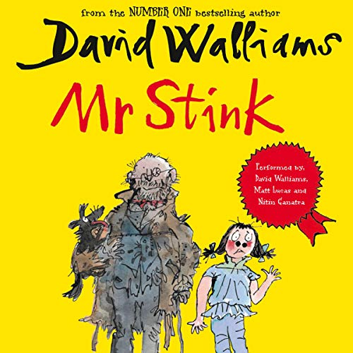 Mr Stink audiobook cover art