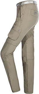 comprar comparacion Baymate Hombres Convertibles Secado Rápido Pantalones De Trekking para Deportes Al Aire Libre