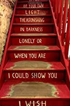 My Joy Notes:  Notebook, Journal, Shakespeare and Company Stairs in Paris: Lined Paper 120 Pages - 6 x 9 inches in Size