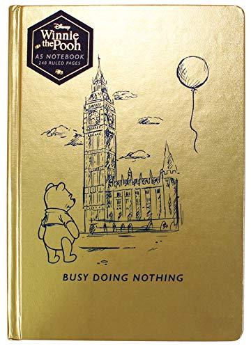 Disney Winnie The Pooh A5 Notizbuch - beschäftigt, nichts zu tun