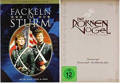 Fackeln im Sturm Box + Die Dornenvögel Box / DVD Box Set