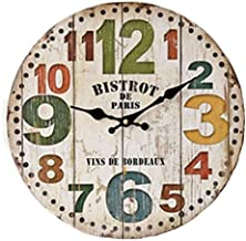 Wood Analog Clock - Wall Clocks