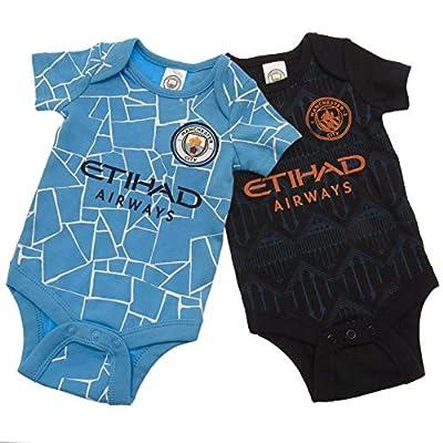 Manchester City - 2020-21 Baby Onesie Set… (6-9 Months)