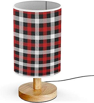 ARTSYLAMP - Wood Base Decoration Desk Table Bedside Light Lamp [ Lumberjack Trendy ]