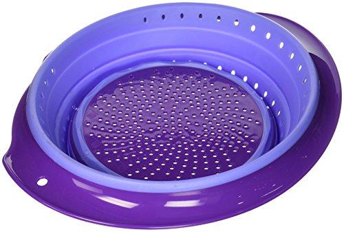 Squish Colander 6 Quart Purple