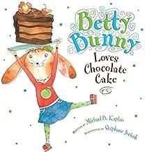 Betty Bunny Loves Chocolate Cake Children's Book & Stuffed Animal Plush 11.5