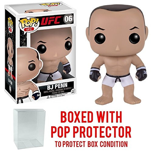 Funko Pop! UFC Ultimate Fighting - BJ Penn #06 Vinyl Figure (Bundled with Pop Box Protector CASE)