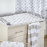 Blancho Gray Jungle Crib Bedding Accessory - Dresser Cover