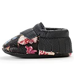 BABY SHOES THAT ACTUALLY STAY ON! Is your little one always wriggling and squirming out of their shoes? Look no more: BirdRock Baby moccasins are secured with an elastic band that makes them easy to put on, and keep on. QUALITY AND STYLE THAT WON'T B...