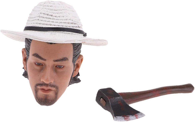 Dolity 1 6 Male Head Sculpt Model for Hot Toys Phicen Kumik Men Body Figure Toy DIY