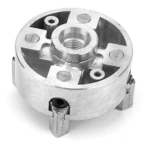 Yongenee Platos de Torno, Z011A aleación de Zinc 4-mordaza de sujeción Pinza Accesorio for Mini Metal Torno Herramientas industriales