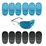 Sumkyle Amblyopia Eye Patches For Glasses,Kids Eye Patch,Treat Strabismus and Lazy Eye Patch For Children 12 pack
