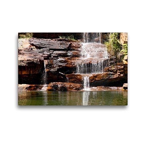 Premium Textil-Leinwand 45 x 30 cm Quer-Format Galvans Gorge, Kimberley, W.A. | Wandbild, HD-Bild auf Keilrahmen, Fertigbild auf hochwertigem Vlies, Leinwanddruck von Andrea Redecker