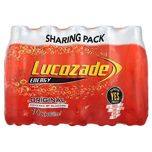 Lucozade Energy Original (10x380ml) - Pack of 2