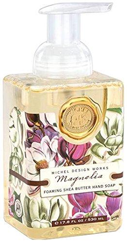 Michel Design Works Foaming Hand Soap, 17.8-Ounce, Magnolia