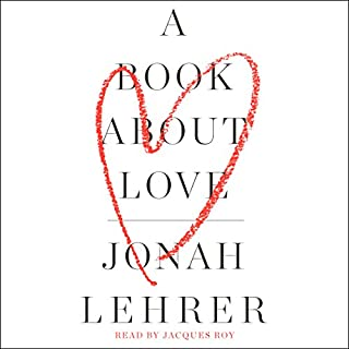 A Book About Love audiobook cover art