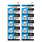 TXY CR2032 Battery 3 Volt Coin & Button Cell Long-Lasting & High Capacity CR2032 Lithium Batteries (Pack of 10)