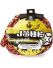 Jobe Four Person Towrope - Cuerda de Wakeboarding, Color Amarillo