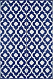 BalajeesUSA 6'x9'  Patio Rug RV mat indoor outdoor rug plastic straw Camping mat Wholesale Price Dark Nv Blue 20317