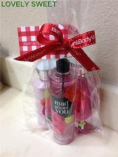 Bath & Body Works Mad About You Set, Body Lotion 8 Oz, Shower Gel 10 Oz & Fragrance Mist 8 Oz