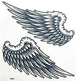 Pegatinas De Tatuaje Temporal para Mujeres Adultos Chicas Alas De Ángel Brazo Pierna Cuerpo Arte Impermeable Tatuaje Temporal Pegatina Mujeres S Maquillaje Tatuajes Temporales-B003