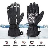 Lifelf Winter Handschuhe Touchscreen für Alle Finger, rutschfest Winddicht Fahrradhandschuhe für Damen Herren, Atmungsaktiv Skihandschuhe aus TPU für Reiten Wandern Radfahren Skifahren Winterurlaub