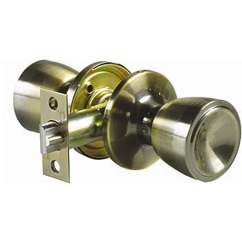 KOTARBAU - Pomo giratorio para puerta, 5 colores, con tornillos de montaje, acero lacado, pomo, pomo giratorio: Amazon.es: Bricolaje y herramientas