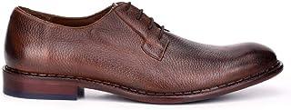 FRANCO CUADRA Men's Derby Shoes in Genuine Deer Leather