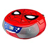 EKids Spiderman CD boombox with LCD Display