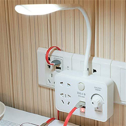 Lámpara Escritorio Convertidor de zócalo de lámpara de mesa LED para...