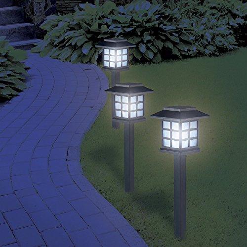 Maison futée - Lampe de jardin a LED style Japonais