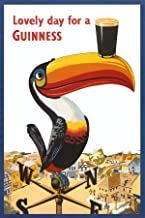 Toucan Lovely Day for a Guinness Vintage Beer Alcohol Advertising Ad Art Poster Print 24 by 36