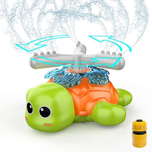 FOSUBOO Outdoor Garden Toys for Toddlers, Water Sprinkler for Kids, Water...
