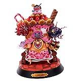 EASTVAPS Juguete One Piece Big MOM Charlotte Pudding Figure Toy Modelo...