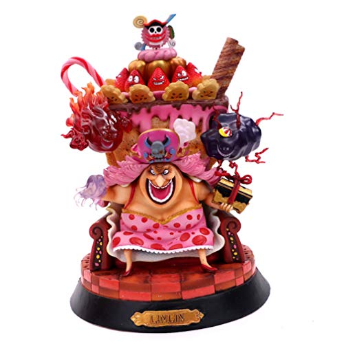 EASTVAPS Juguete One Piece Big MOM Charlotte Pudding Figure Toy Modelo Decoración
