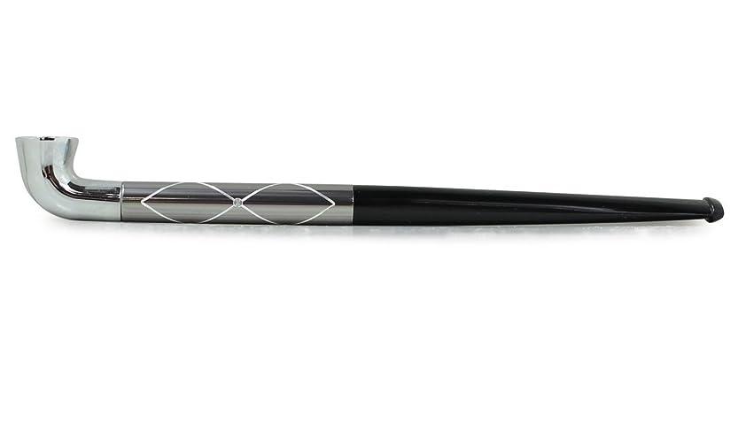 送信する過ち代表してFINE PIPE(ファイン パイプ) 刻み 手巻きタバコ用 ガンメタ クロス FP-G-C