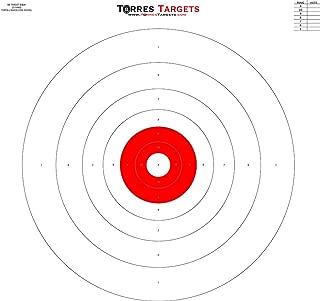 B8 Style Bullseye Target Red