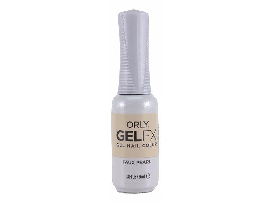 征服するくつろぎかろうじてOrly Gel FX - Darlings of Defiance Collection - Faux Pearl - 0.3 oz / 9 mL