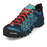 Salewa WS Wildfire Gore-TEX Zapatos de Senderismo, Poseidon/Capri, 38 EU