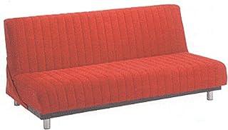 フランスベッド ソファーベッド スイミーD ショートサイズ 赤色 高脚