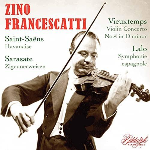 Zino Francescatti, The Philadelphia Orchestra, Eugene Ormandy, William Smith, New York Philharmonic & Dimitri Mitropoulos