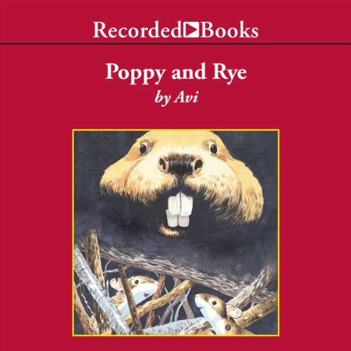 Poppy and Rye audiobook cover art